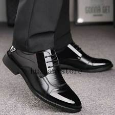 Business Luxury OXford Shoes Men Breathable Leather Rubber Formal Dress Wedding