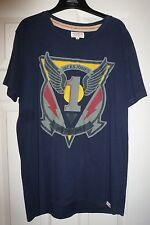 JACK JONES MILITARY UNIT VINTAGE T-SHIRT - M (G2105)