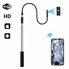 Telescopic Pole Wireless WiFi Inspection Camera for iPhone iPad Android 5 Feet