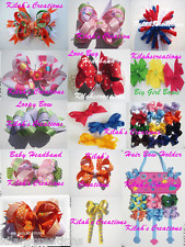 HOW TO MAKE BOUTIQUE HAIRBOWS & HEADBANDS DVD INFANT & BIG GIRL BOWS