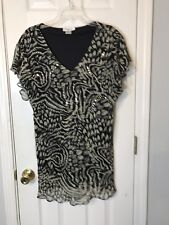 HUGE MARKDOWN‼️ Signature Size Size 1X Bold Look Wild Thing Shirt Top