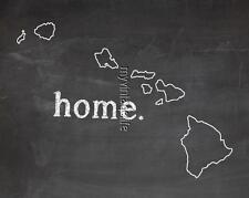 "HAWAII HOME STATE PRIDE 2"" x 3"" Fridge MAGNET CHALKBOARD CHALK COUNTRY"