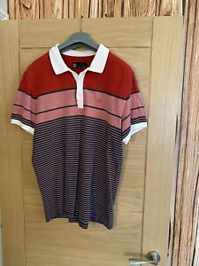 Next Polo Shirt In Good Condition Size L
