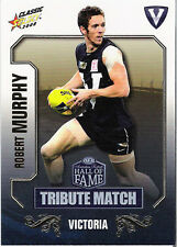 2008 Select AFL Classic HOF Tribute Match Card TM17 Robert Murphy (Bulldogs)