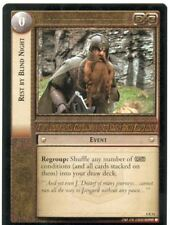 Lord Of The Rings CCG Card TTT 4.R54 Rest By Blind Night