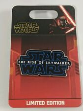 Disney Pin Trading Star Wars The Rise Of Skywalker Limited Edition Pin