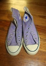 Vintage 1970s Converse All Star Purple Lavender High Top Shoes Chuck Taylor