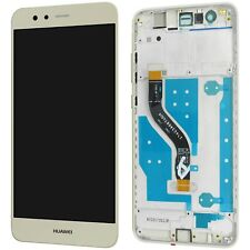 Huawei p10 Lite completo pantalla LCD Pantalla táctil Gold + con marco