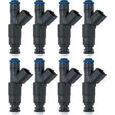 8 NEW Mercruiser Fuel Injector 350 MAG 5.0L 4.3L 6.2L 885176 0280156081 ,
