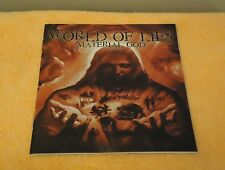 World Of Lies - Material God - CD, 2002 Buried In Hell Rec. U.S. Death Metal.