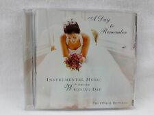 Wedding Music - Instrumental - A Day to Remember - The O'Neill Brothers CD