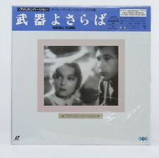 04719 F/S EX Laserdisc / FAREWELL TO ARMS  / IVCL-10004 w/OBI from Japan