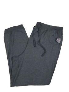 Nautica Sleep Pants Men's Dark Gray XL Soft Sleepwear Lounge NWT