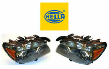 New! BMW Pair Set of Left & Right Xenon Headlights Hella