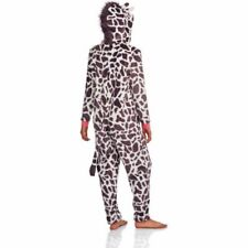 NEW Women's One Piece Pajamas One PC Costume Union Suit SZ LARGE Giraffe ONLY