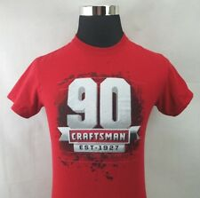 Craftsman Mens T Shirt  Established 1927 World of Outlaws Late Models Size Small