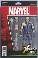 CABLE #1 JOHN TYLER CHRISTOPHER ACTION FIGURE VARIANT MARVEL COMICS X-MEN