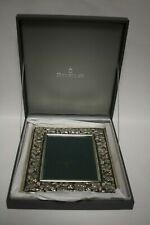 "Buccellati Sterling Silver Decorative Picture Frame Grape & Vine Pattern 5"" x 7"""