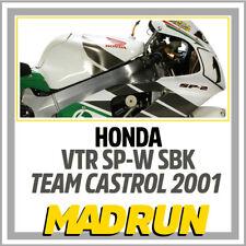 Kit Adesivi Honda VTR SP1 - SP2 Team Castrol 2001 SBK - Light Version