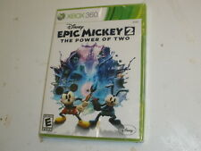 Disney Epic Mickey 2: The Power of Two for Xbox 360 - **SEALED** - Free Shipping