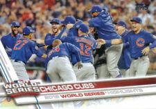 Cromos de béisbol de coleccionismo Temporada 2017