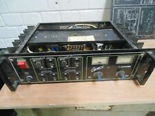 Classic vintage canary power amplifier 1970s