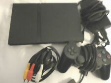 Sony PlayStation 2 Slim Charcoal Black Console/ TWENTY NINE GAMES/