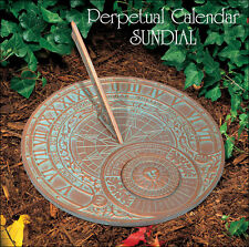 Whitehall Perpetual Calendar Sundial Ships FREE & FAST Copper Verdi Rust Proof