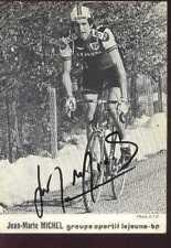 JEAN-MARIE MICHEL LEJEUNE BP Team Signed Autographe cycling cyclisme signée