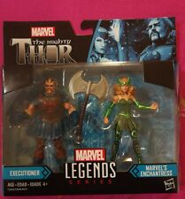 Marvel Legends Thor Ragnarok Executioner Marvel's Enchantress 2pack 3.75inch