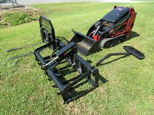 2015 Toro Dingo TX427 Mini Skid Steer with Pallet Forks and Grapple - Ship $750