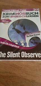 Mp3 Begleitbuch 2x Cd Krimi Hörbuch Zum Englisch Lernen Silent Observer NEU OVP