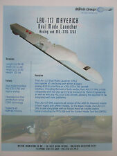 DOCUMENT RECTO THE MARVIN GROUP LAU-117 MAVERICK DML MISSILE LAUNCHER F-16
