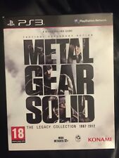 METAL GEAR SOLID THE LEGACY COLLECTION - PS3 PAL ITA