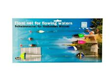 9PC Fish Float Set Flowing Waters Fishing Floats Catch Terminal Tackle Bobbers