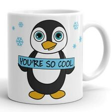 Funny Penguin Lovers Coffee Mug You Are So Cool Cup Cute Gift for Friend Brother