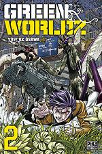 manga Green Worldz tome 2 Seinen Shonen Yusuke Osawa Pika Horreur Fantastique VF