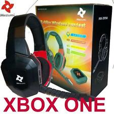 Wireless Gaming Stereo Headset for XBox One Game Sound Chat NEW Fast Shipping