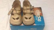 Chicco - scarpe da bambina - colore beige - N°18 - con fibbie - USATE