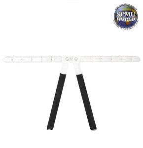 Microblading Steel Ruler - SPMU Guide Measuring Eyebrow Tool