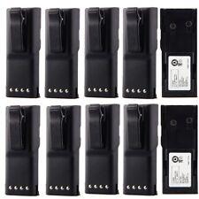 10pcs 7.5V 1800mah HNN9628 Two-Way Radio Battery for MOTOROLA GP-300 LCS2000 US