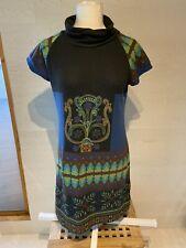 Amari Size Large Multicoloured High Neck Dress Preloved