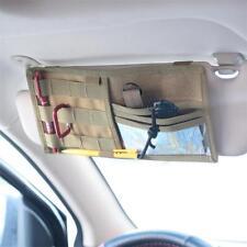 Car Sun Visor Point Pocket Organizer Pouch Pen Card CD Pad Holder Storage Bag