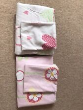 Next Girls Single Bedding Sets X 2