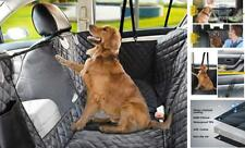 New listing Dog Seat Cover for Back Seat, 100% Waterproof Dog Car Seat X-Large Black