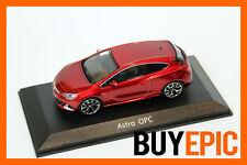 Motorart Opel Astra J GTC OPC, Rosso, rosso, Modello auto 1:43, Rivenditore