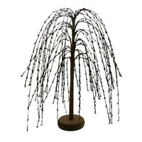 Pip Berry Weeping Willow Tree 18-Inch Burgundy Primitive Vintage Decoration Art
