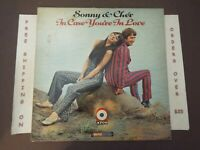 """SONNY & CHER IN CASE YOU'RE IN LOVE 1967 MONO LP """"THE BEAT GOES ON"""" ATCO 33-203"""