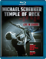 Michael Schenker • Temple Of Rock • Live in Europe • Blu-ray • 2012 •• NEW ••