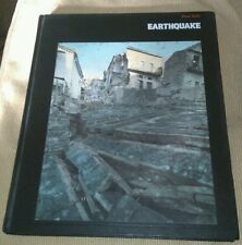 Planet Earth Earthquake 1982 hard cover Book Science Natural History Photo Album